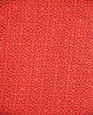 7485 R Abstract Clover Red