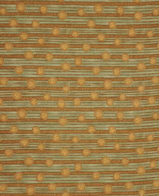 7679 38 Brown Button Stripe