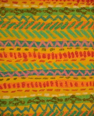 812902b Multi Stripe Orange