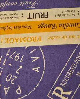 816743 A Purple/Mustard