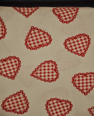 8192 8 Red Checked Hearts