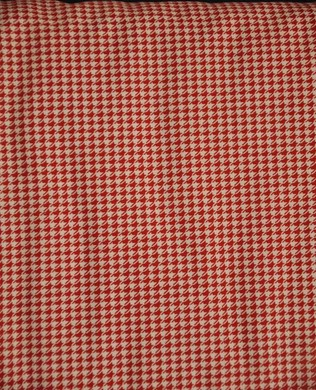 8193 08 Houndstooth Red