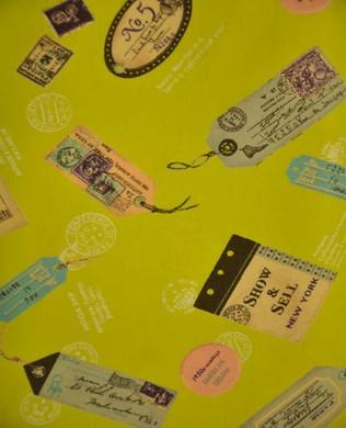 822008 Bag Tags Lime Green