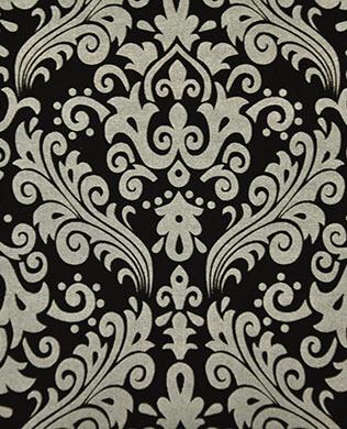 830110 Damask Black