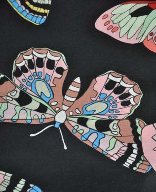 8583 Black Butterflies