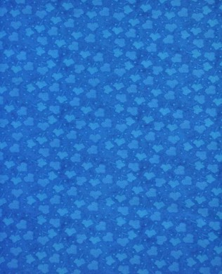 86 Leaf Dot Blue