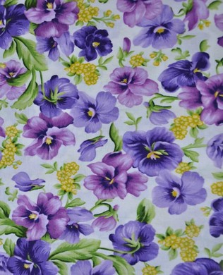 9170 E Cream Packed Pansies