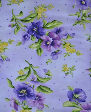 9172 V2 Purple Pansy