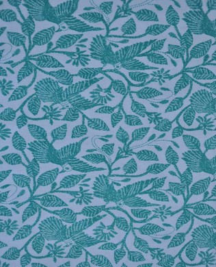 AB012 Stitched in Flight Teal