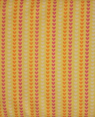 C3735 Hearts Yellow