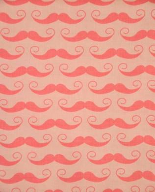 C51071 Hot Pink Mustache