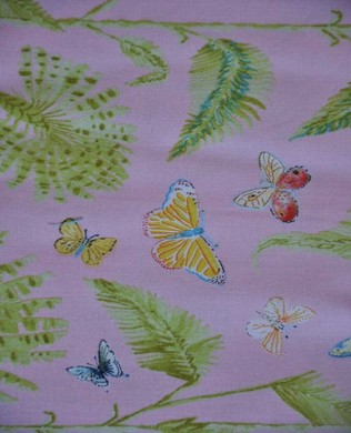 DF227 Pink Butterfly Palm