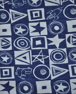 DW111 Indigo Star Squared
