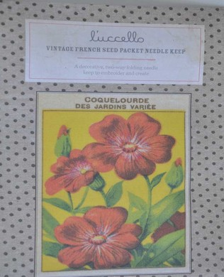 French Seed Packet 4oclockFlower