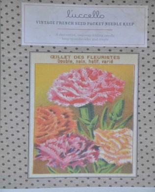 French Seed Packet Carnation