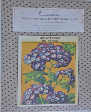 French Seed Packet Heliotrope