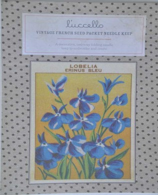 French Seed Packet Lobelia