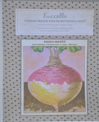 French Seed Packet Turnip