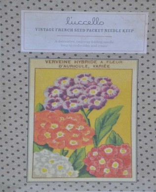 French Seed Packet Verbena