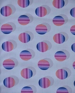 JD 160 Berry Poka Stripe