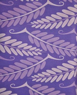 Js059 Purple Locust Leave