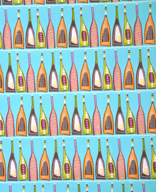 K0126P Turquoise Bottles