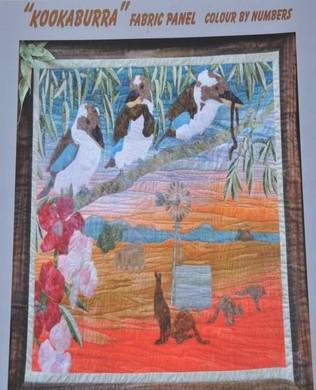 Kookaburra Fabric Panel Kit