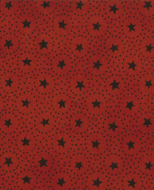M106135  Mottle Stars Rust