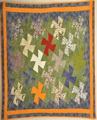 Maverick Pinwheel Quilt
