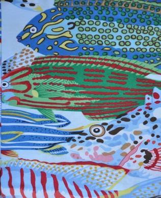 SL037 Exotic Fish Natural