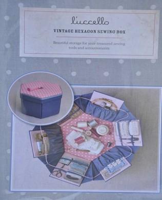 Vintage Hexagon Sewing Box Kit