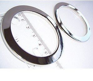 Flat O-rings 52mm Silver 2pack