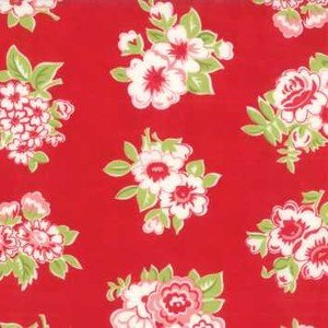55188 11 Red Floral