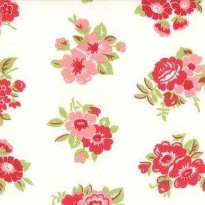 55188 15 Cream Floral