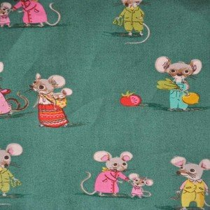 50897 3 Green Mouse