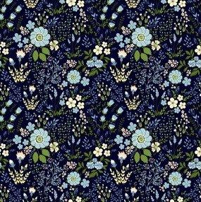 6GSG2 Blue Floral