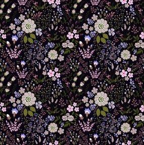 6GSG3 Purple Floral