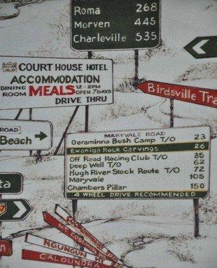7025D Road Signs