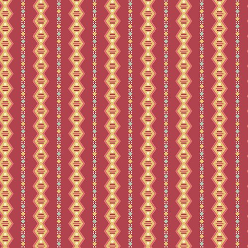 7968 Red Chain Stripe