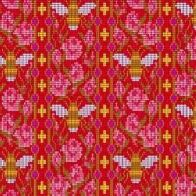 9250 E Scarlet Bead Work