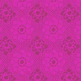 9253 P Plum Crochet