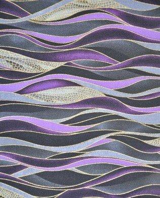 8002 311 Purple Black Waves