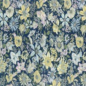820814-71 Navy Flowers