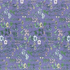 820816-110 Purple Floral