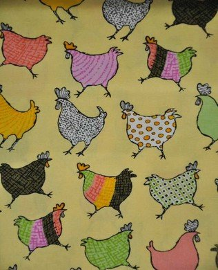 850227 23 Yellow Roosters
