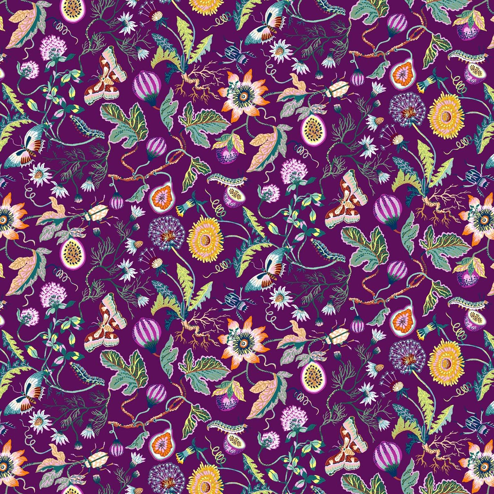 90329-89 Purple Garden