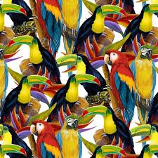 9077-1 Packed Parrot
