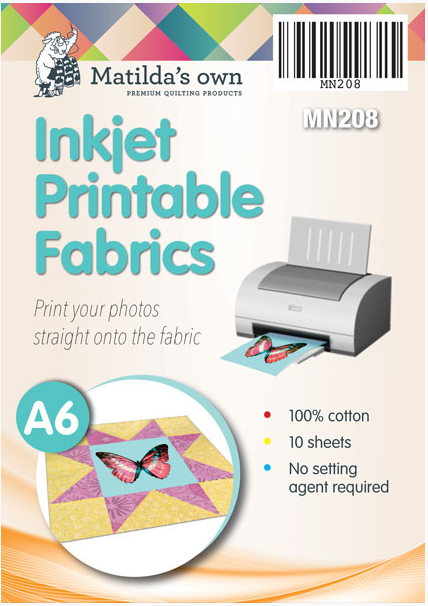Inkjet Printable Fabric