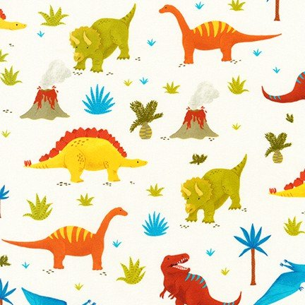 18612 237 White Dinosaurs