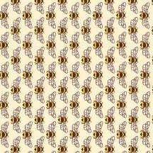 18093 86 Eggshell Bees